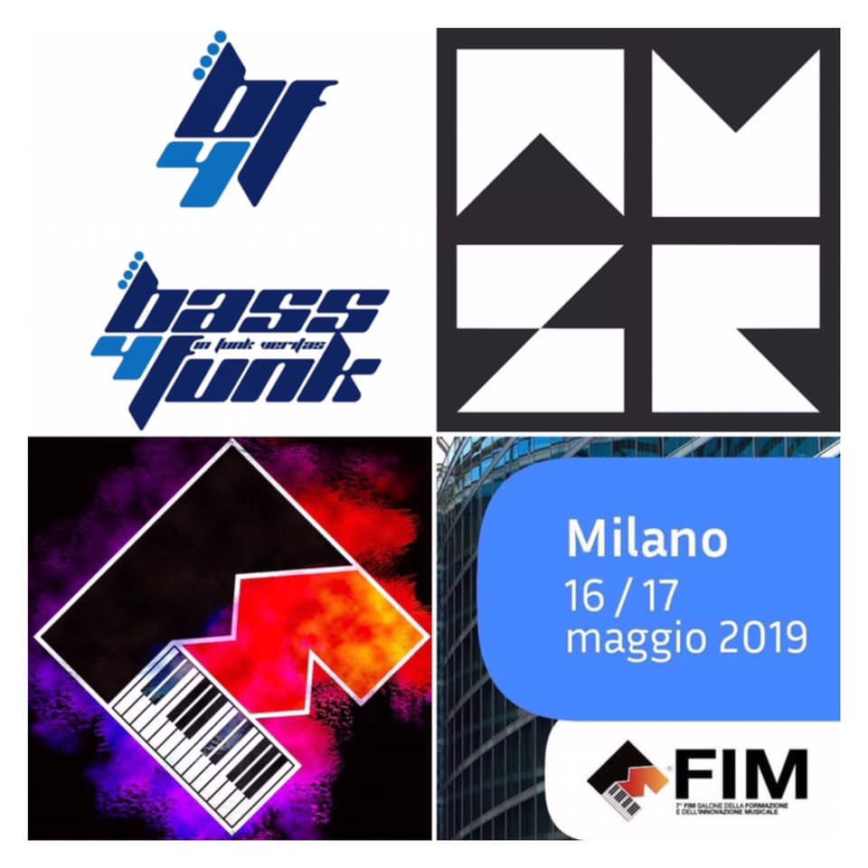 Bass4Funk live at FIM Milan