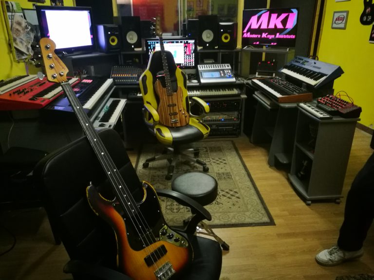 Bass4Funk Recording Studio Sessions